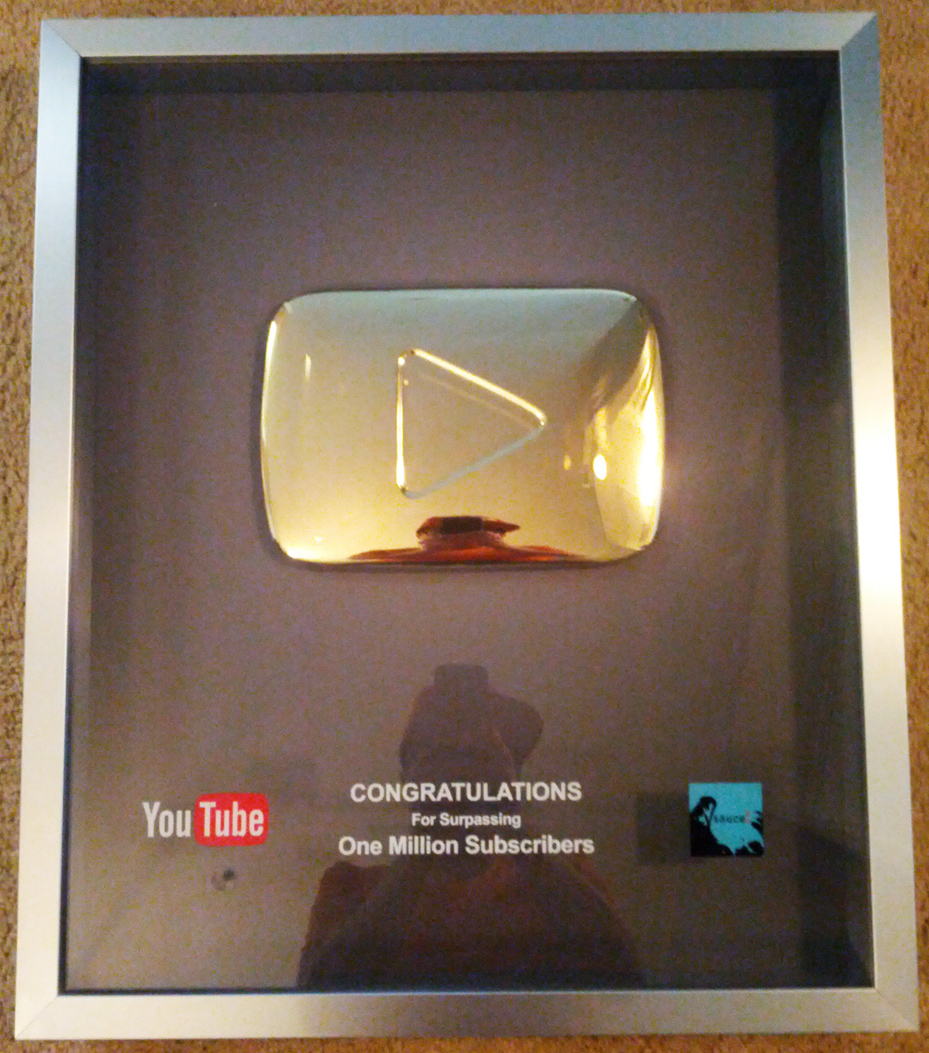 goldener play button