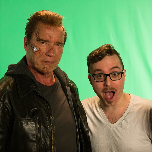 Terminator Campaign with Arnold Schwarzenegger