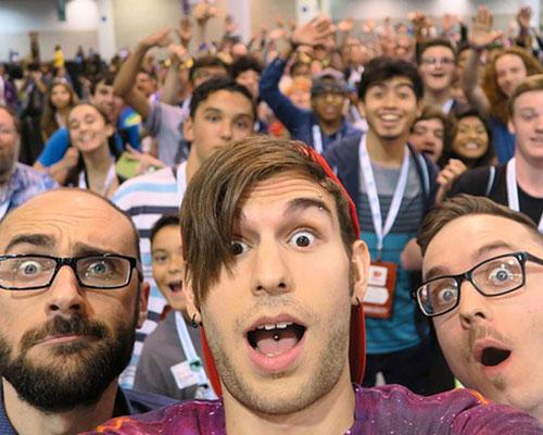 Vidcon 2015 Selfie