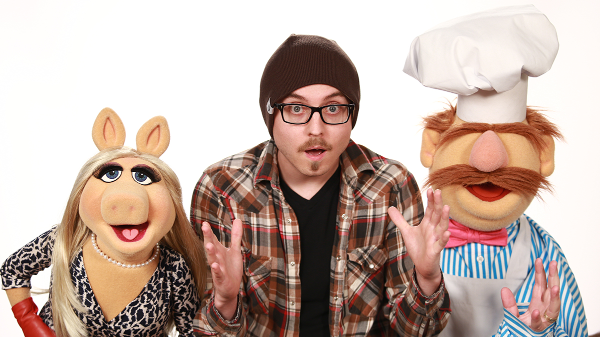 Miss Piggy, Myself and Swedish Chef