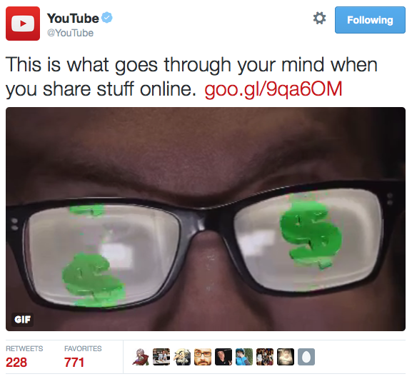 The Official YouTube Twitter