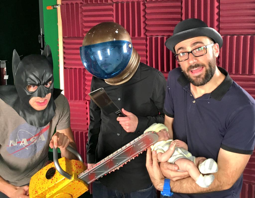 Patrick Batman, Astronut, and Michael Stevens