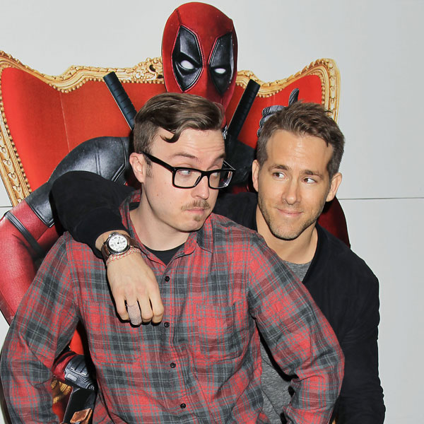 Hosting Deadpool Premiere with Ryan Reynolds